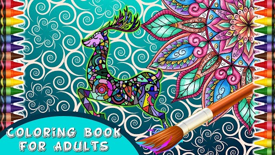 Game Coloring Book For Adults APK Windows Phone