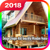 Design Unique And Beautiful Wooden House