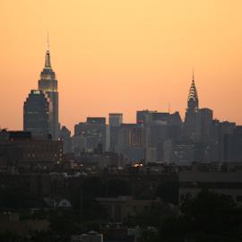 New York at Dusk by Alec Halstead - City,  Street & Park  Skylines