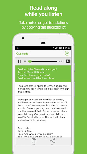 LearnEnglish Podcasts - Free English listening screenshot 3