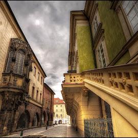 Carolinum, Prag by Jana Vondráčková - City,  Street & Park  Street Scenes