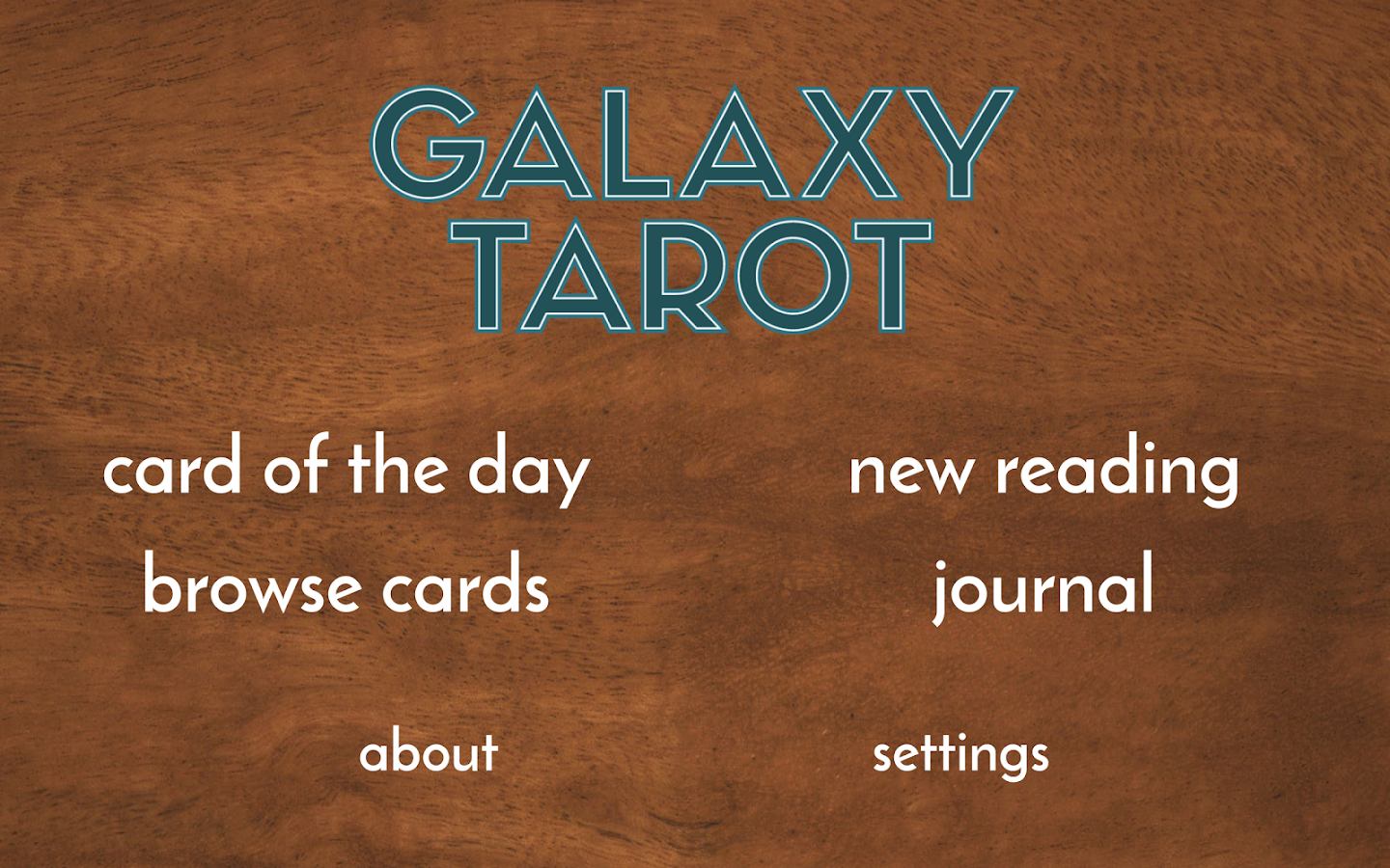 Galaxy Tarot Pro Screenshot 8