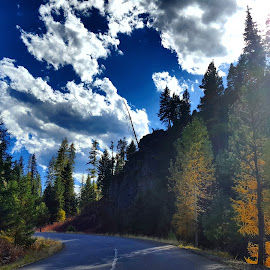Mountain drive by D.j. Nichols - Instagram & Mobile Android ( mountain drive )