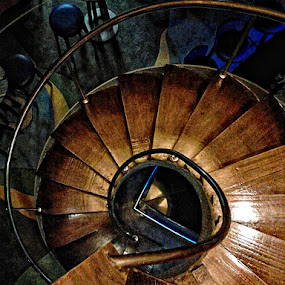spiral staircase by Mark Louie Meru - Buildings & Architecture Other Interior ( stair, spiral staircase, stairs, subic bay, lighthouse, mahalokawaii, spiral, subic, maky meru )