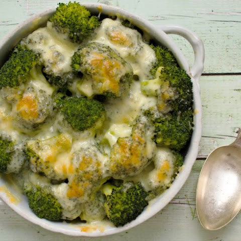 Garlic-Cheese Broccoli
