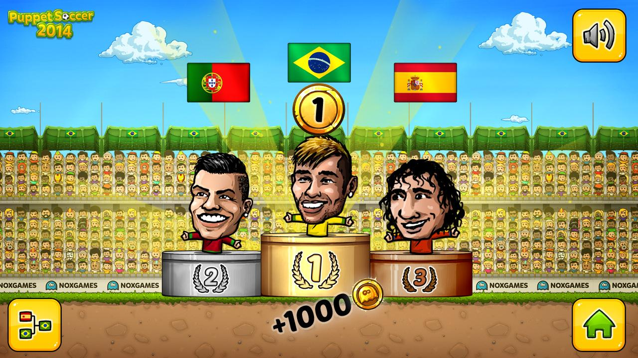 Puppet Soccer 2014 - Football Screenshot 6