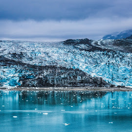 Blue Ice by Garry Dosa - Landscapes Waterscapes ( national park, blue, outdoors, isolated, cruise, shades of blue, wilderness, ice, remote, water, glacier, park )
