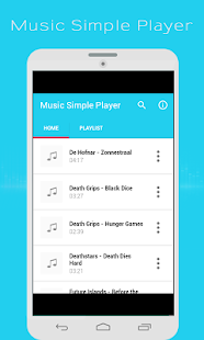 Music Simple Player - screenshot