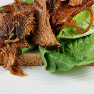 CrockPot Barbecued Pulled Pork