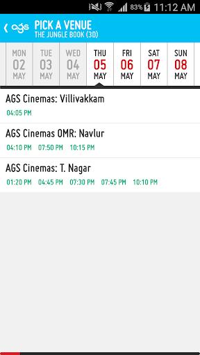 AGS Cinemas screenshot 3