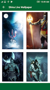Lord Shiva HD Live Wallpaper 2017 : Mahakal Status APK screenshot thumbnail 12
