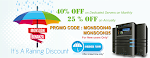 get flat 40 % off on all dedicated and cloud server