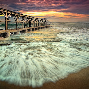 the pier by Herry Suwondo - Landscapes Waterscapes