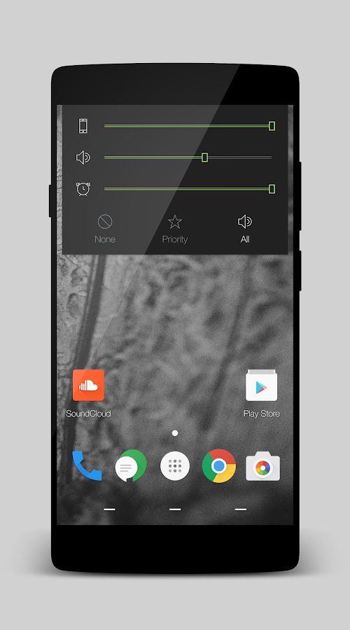 Volt - Layers Theme Screenshot 1