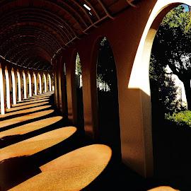 Through the Shadows by Brendan Mcmenamy - Novices Only Street & Candid ( san diego, hall, shadow, hallway, shadows )