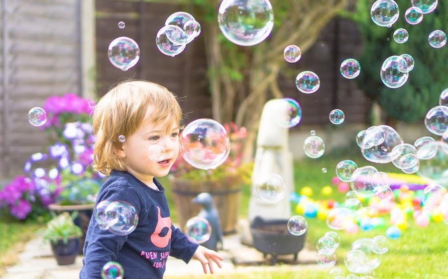 Bubble by Matt Lampey - Babies & Children Children Candids