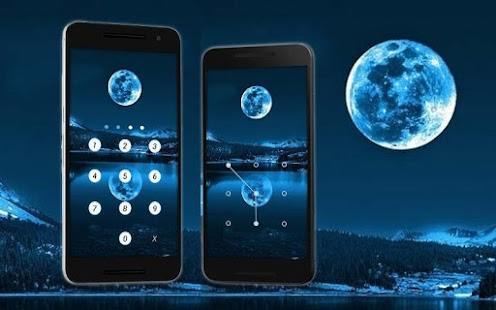 Applock Theme Moon - screenshot