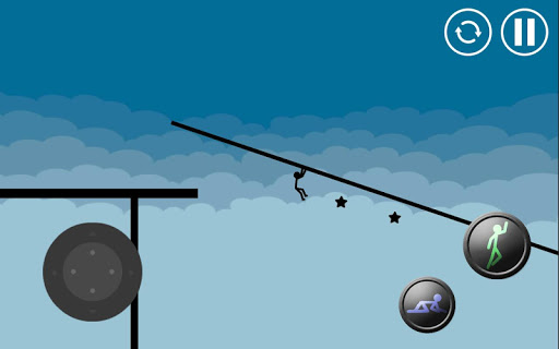 Stickman Parkour Platform For PC