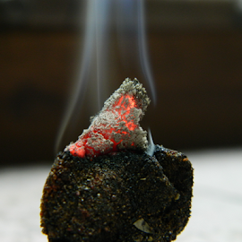 Angaar - The Fire by Vaibhav Shende - Artistic Objects Other Objects ( angaar, dhoop, smoke, fire )