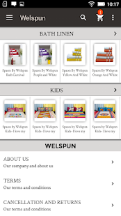 Welspun Home Textiles - screenshot