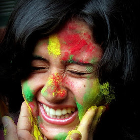 Smiley by Anumita Das - People Portraits of Women ( face, color, happiness, smile, portrait )