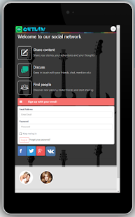 Outlaw Social Network - screenshot
