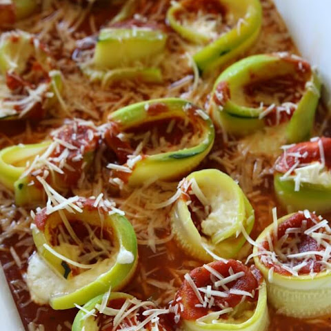 Zucchini Lasagna Roll-Ups (Slow Cooker or Oven)