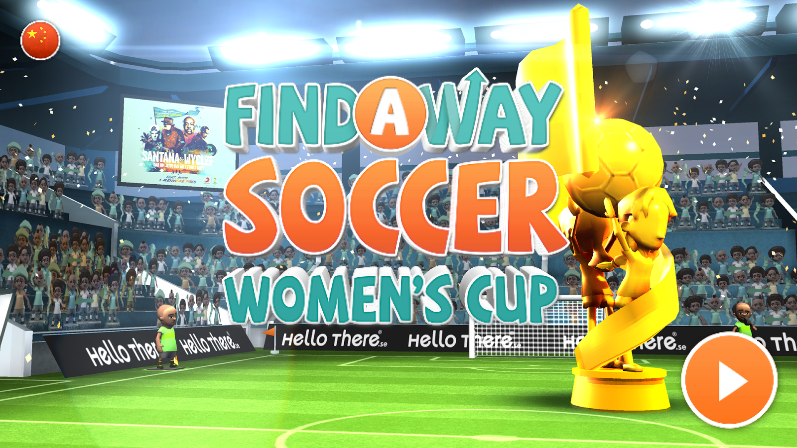 Find a Way Soccer: Women's Cup Screenshot 14