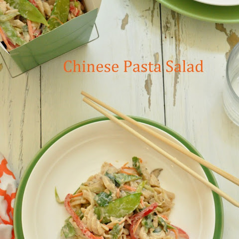 Chinese Chicken Pasta Salad
