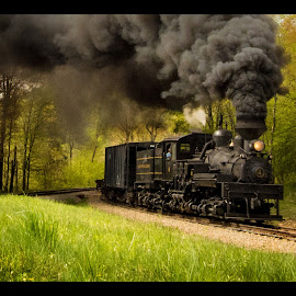 7-10 Color by James Eickman - Transportation Trains (  )