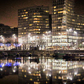 City lights by Stephen Carrigan - Buildings & Architecture Office Buildings & Hotels
