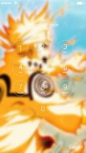 App Lock Screen for Naruto APK for Windows Phone