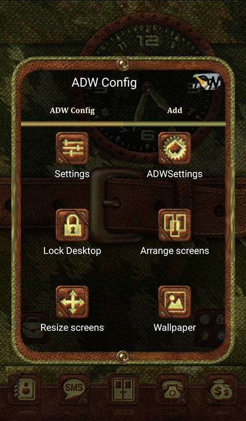 TSF NEXT NOVA CAMOUFLAGE THEME Screenshot 6