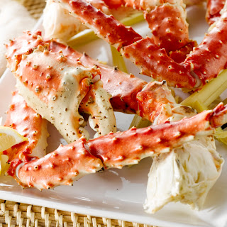 Simmered Lemongrass Alaska Crab Legs