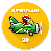 SUPER PLANE 2D - Casual Endless Game icon