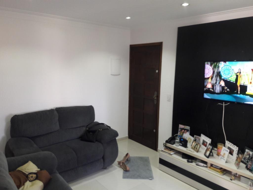 Apartamento com 2 dormitórios à venda, 50 m² por R$ 135.000 - Parque Santo Antônio - Guarulhos/SP
