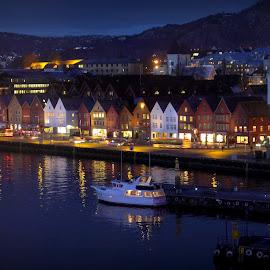 The Bryggen - Bergen by Judith Deacon - Buildings & Architecture Public & Historical