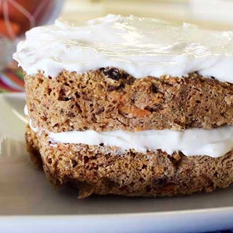 Low Calorie & Gluten Free Carrot cake