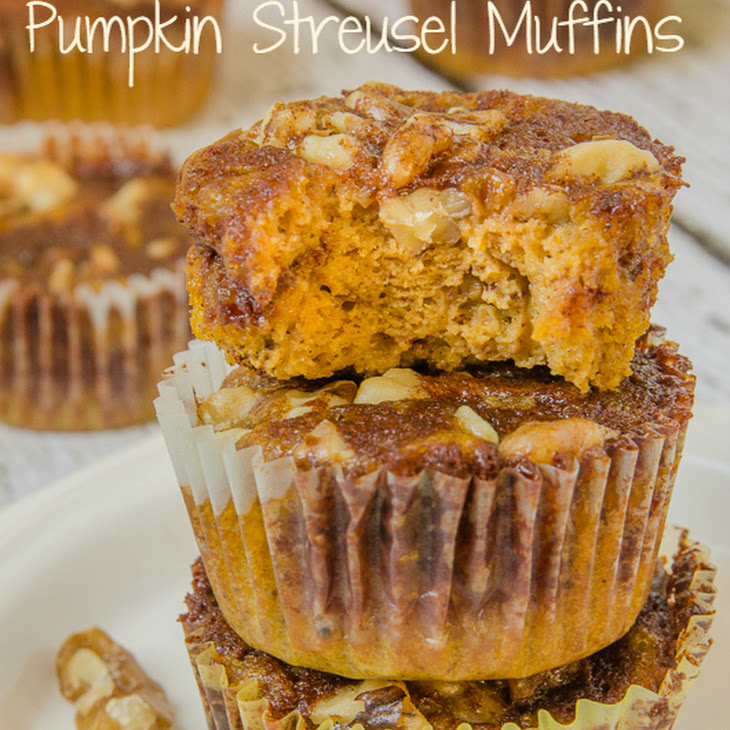 Gluten Free Pumpkin Streusel Muffins Recipe | Yummly