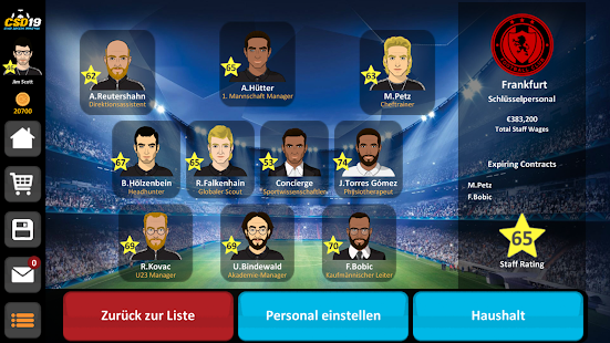 Club Soccer Director 2019 - Football Club Manager Screenshot