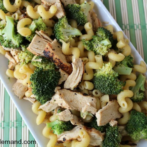 Lemon Broccoli Pasta with Chicken