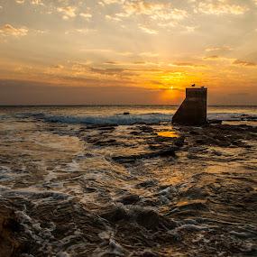 by Johan Niemand - Landscapes Sunsets & Sunrises ( clouds, dawn, sunset, sunrise, beach, sun )