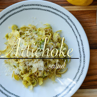Shaved Artichoke Salad