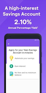 Varo Mobile Banking and Saving