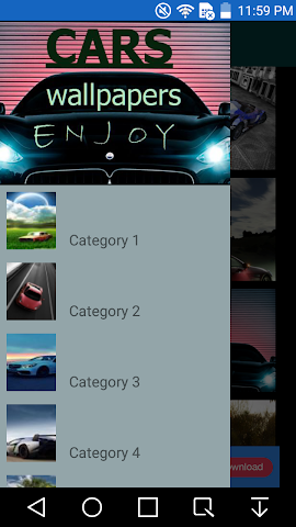 android Cars Wallpaper Screenshot 0