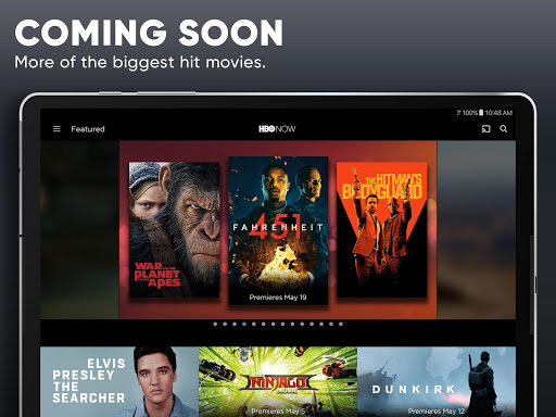 HBO NOW: Stream TV & Movies screenshot 15