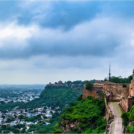 History Revisited the signature stroke of Gwalior by Devang Shrimali - Buildings & Architecture Public & Historical ( hill, gwalior, monument, fort, travel, landscape, photography )