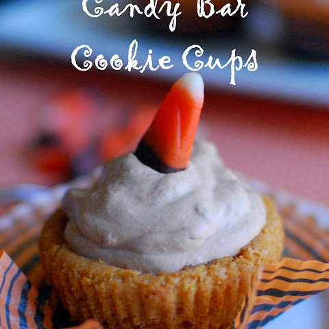 Candy Bar Cookie Cups