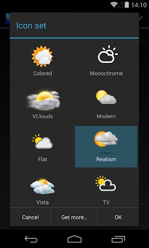 Chronus: Realism Weather Icons screenshot 1