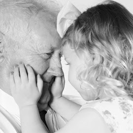 You and meet Great Grandpa by Vix Paine - People Family ( love, great grandaughter, grandpa, family, granddaughter, great grandpa, memories, grandparents, great grandad )